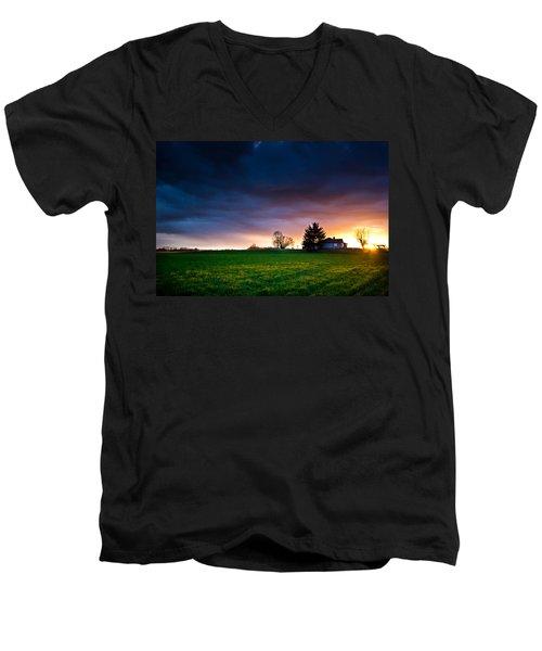 The House Of The Rising Sun Men's V-Neck T-Shirt