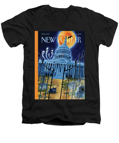 The House Republicans Haunt The Captiol Building Men's V-Neck T-Shirt