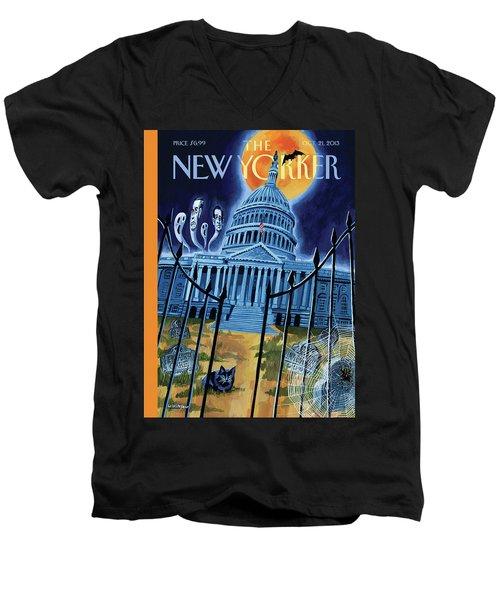 The House Republicans Haunt The Captiol Building Men's V-Neck T-Shirt