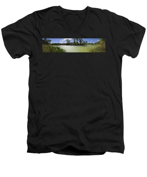 The Indiana Wetlands Men's V-Neck T-Shirt
