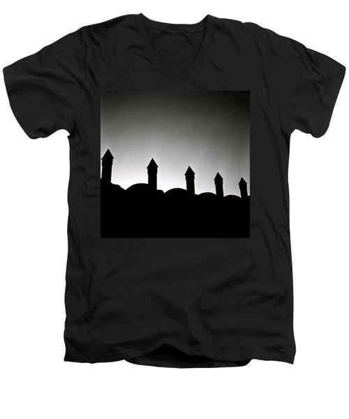 Timeless Inspiration Men's V-Neck T-Shirt by Shaun Higson