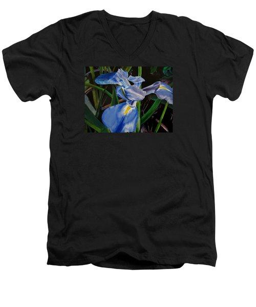 The Iris Men's V-Neck T-Shirt
