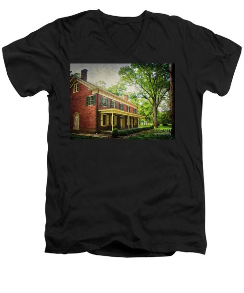 The John Stover House Men's V-Neck T-Shirt
