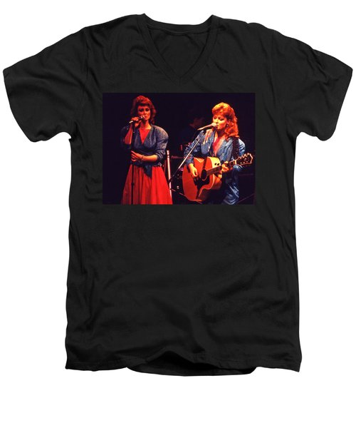 The Judds Men's V-Neck T-Shirt by Mike Martin