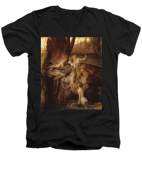 The Lament For Icarus Men's V-Neck T-Shirt