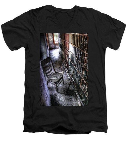 The Last Visitor Men's V-Neck T-Shirt