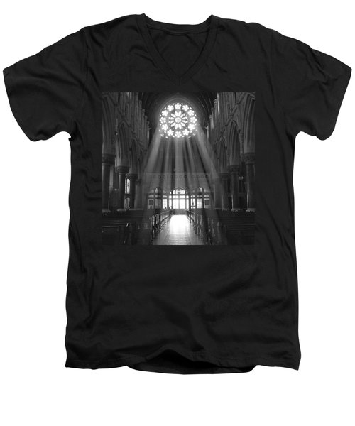 The Light - Ireland Men's V-Neck T-Shirt