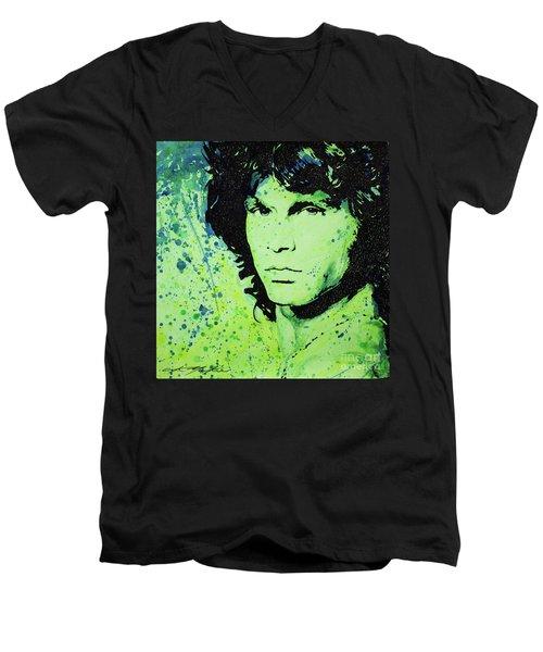 The Lizard King Men's V-Neck T-Shirt