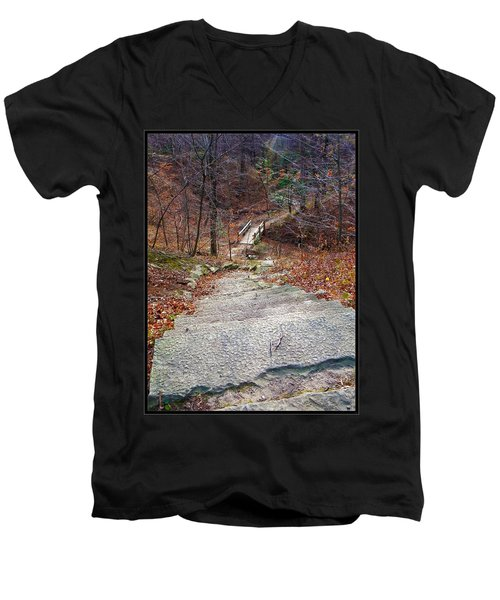 The Long Lonely Trail... Men's V-Neck T-Shirt