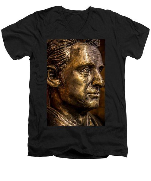The Man In Black Men's V-Neck T-Shirt