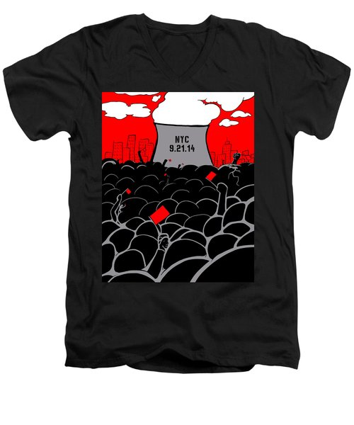 The March Men's V-Neck T-Shirt