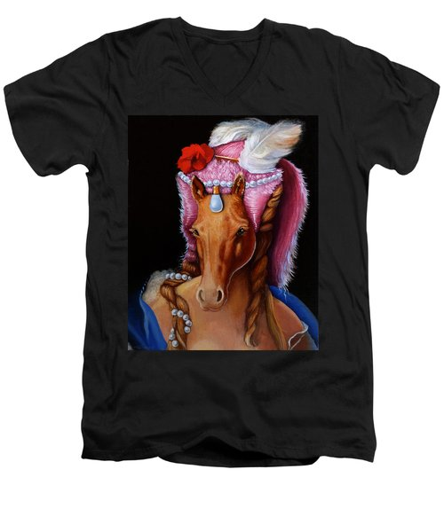 The Mare As Queen Men's V-Neck T-Shirt