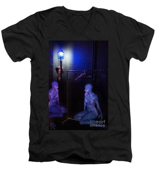 The Mermaids Dresser Men's V-Neck T-Shirt by Rosa Cobos