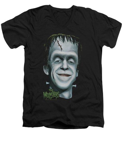 The Munsters - Herman's Head Men's V-Neck T-Shirt