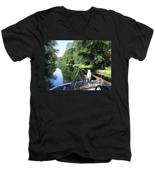 The Navigator Men's V-Neck T-Shirt