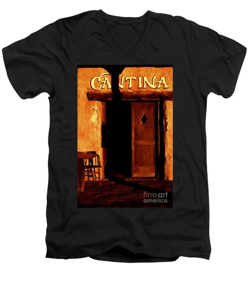 The Old Cantina Men's V-Neck T-Shirt