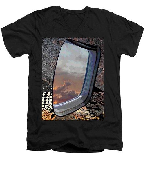 The Other Side Of Natural Men's V-Neck T-Shirt
