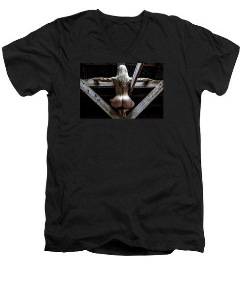 The Perch Men's V-Neck T-Shirt by Mez