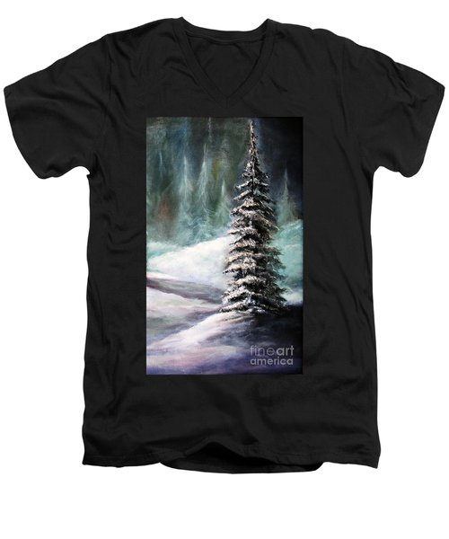 The Perfect Tree Men's V-Neck T-Shirt