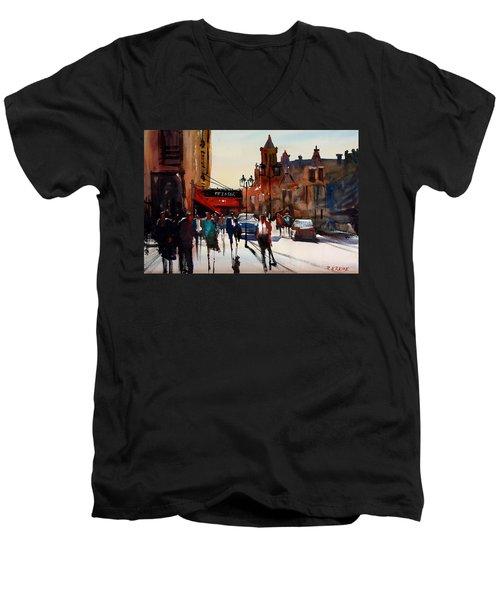 The Pfister - Milwaukee Men's V-Neck T-Shirt