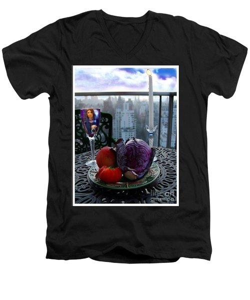 The Photographer Men's V-Neck T-Shirt
