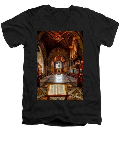 The Reading Room Men's V-Neck T-Shirt