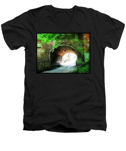 The Road To Beyond Men's V-Neck T-Shirt by Shawn Dall