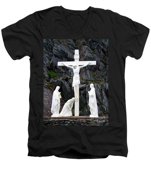 The Savior Men's V-Neck T-Shirt