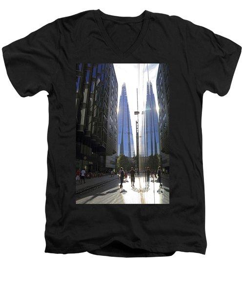 The Shard London Men's V-Neck T-Shirt