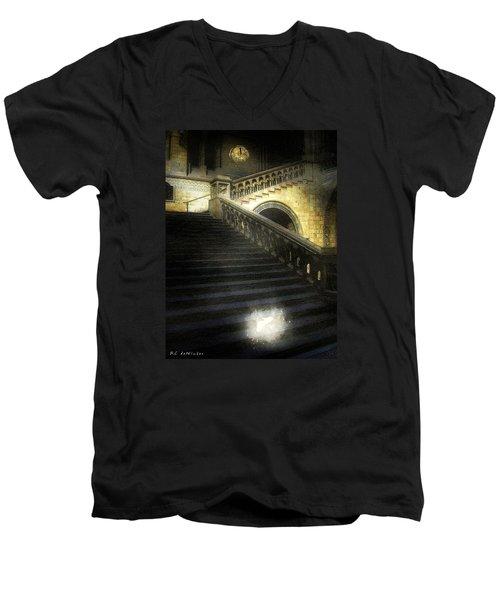 The Shoe Forgotten Men's V-Neck T-Shirt by RC deWinter