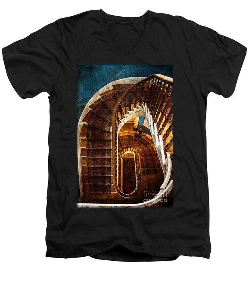 The Staircase Men's V-Neck T-Shirt