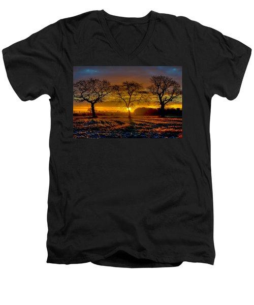 The Three Stooges Men's V-Neck T-Shirt