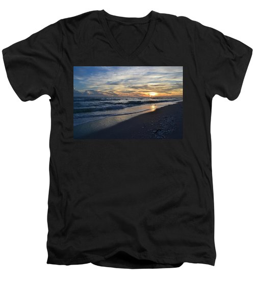 The Touch Of The Sea Men's V-Neck T-Shirt