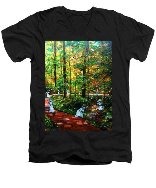 The Trials Men's V-Neck T-Shirt