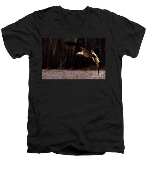 The Turn Men's V-Neck T-Shirt