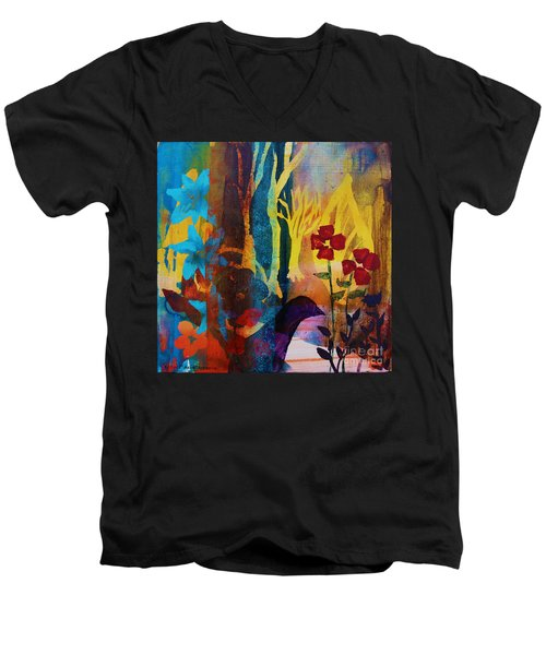 The Unforgettable Walk Men's V-Neck T-Shirt