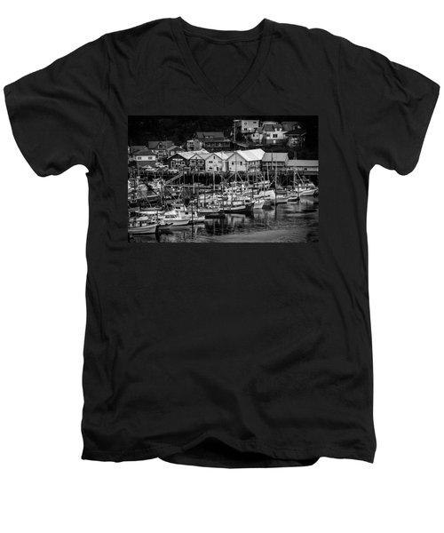 The Village Pier Men's V-Neck T-Shirt