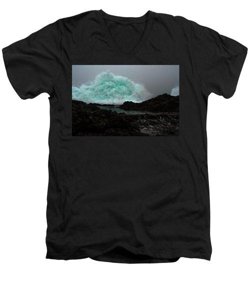 The Wall Series Frame 3 Full Res Men's V-Neck T-Shirt