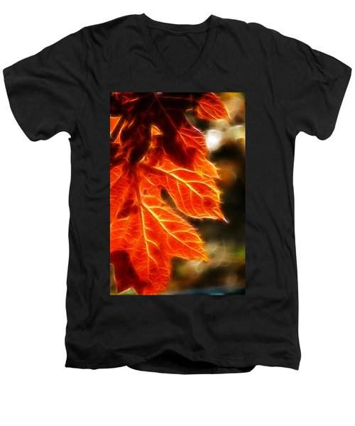 The Warmth Of Fall Men's V-Neck T-Shirt