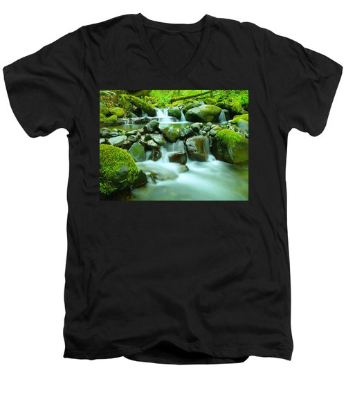 The Way Of Healing Water  Men's V-Neck T-Shirt