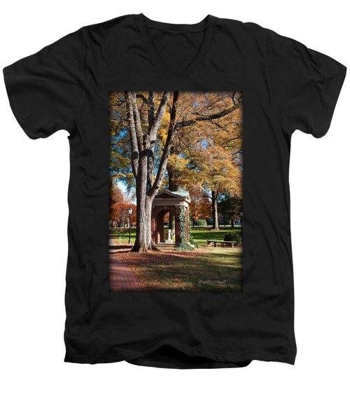 The Well - Davidson College Men's V-Neck T-Shirt