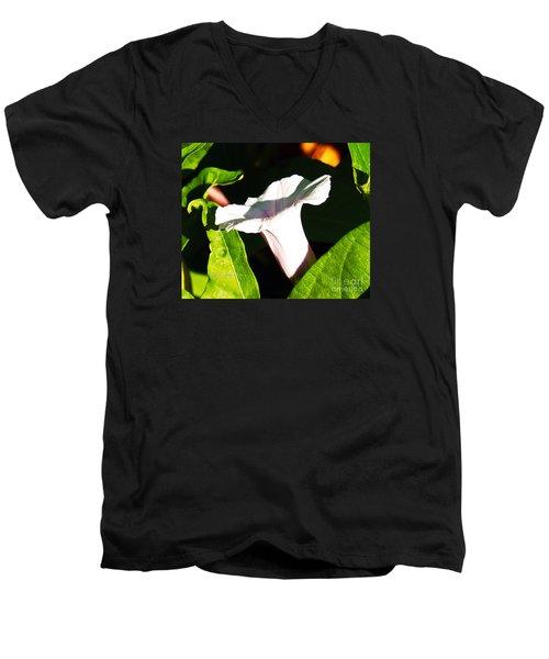 The White Trumpet Men's V-Neck T-Shirt