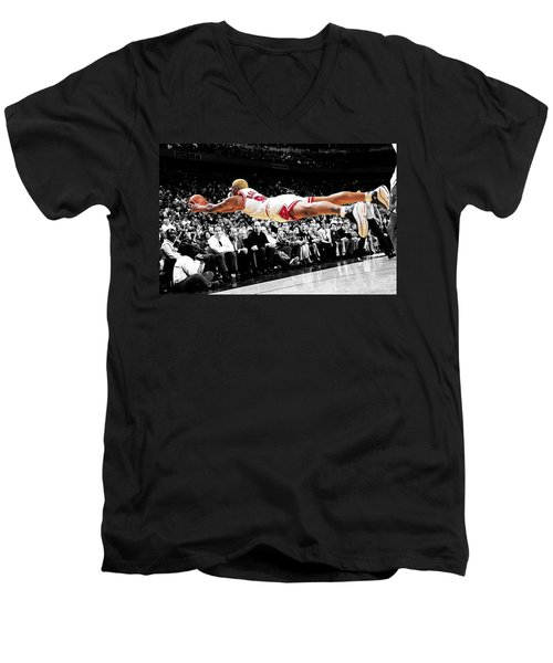 The Worm Dennis Rodman Men's V-Neck T-Shirt