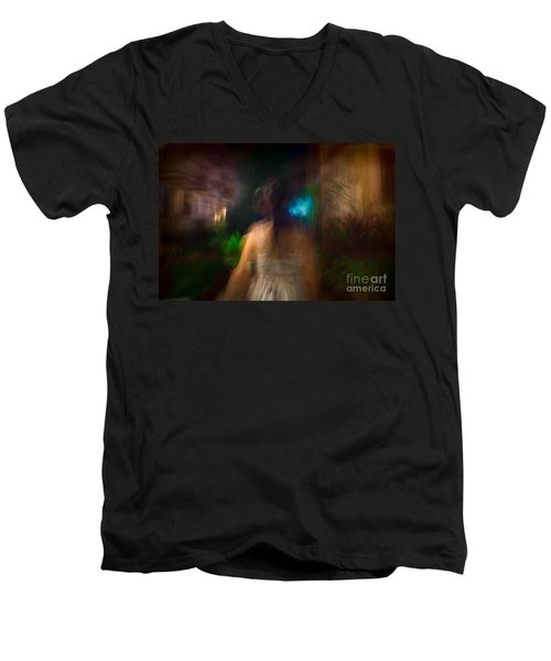 There She Was Men's V-Neck T-Shirt