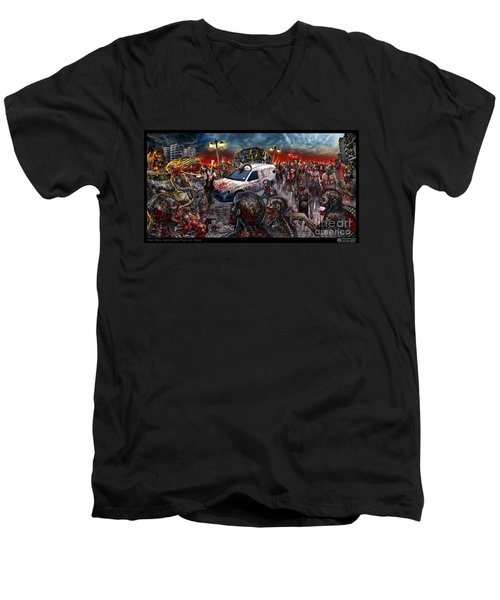 They Will Take Over If You Let Them Men's V-Neck T-Shirt