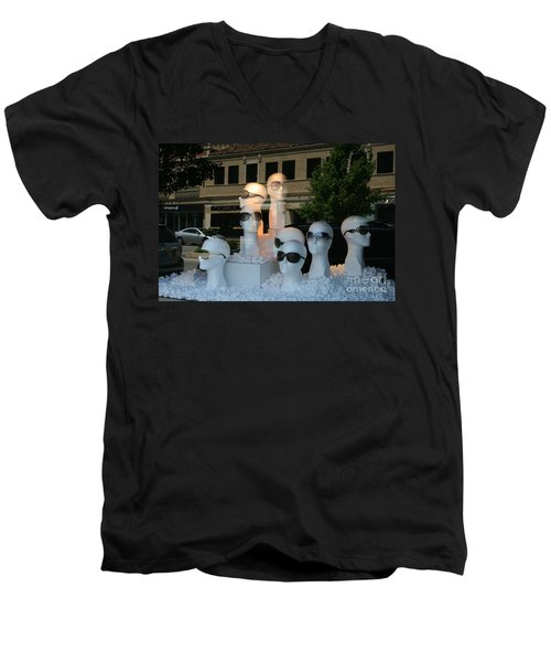 They're Watching Men's V-Neck T-Shirt