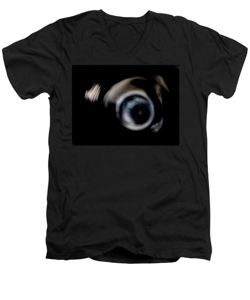 They're Watching The Madness Men's V-Neck T-Shirt
