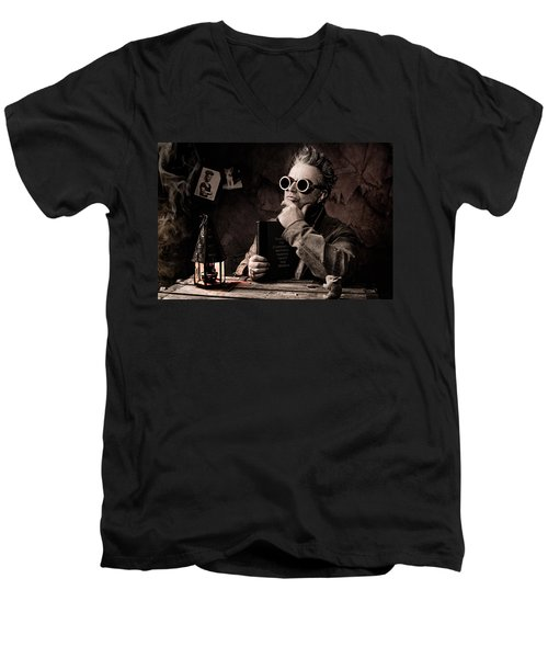 Things To Consider - Steampunk - World Domination Men's V-Neck T-Shirt