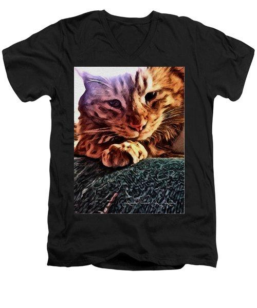 Thinking Of You Men's V-Neck T-Shirt