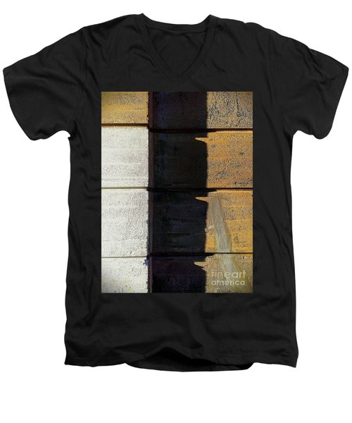 Men's V-Neck T-Shirt featuring the photograph Thirds by James Aiken